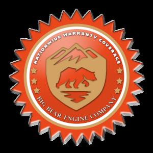 Big Bear Engine Company Warranty Seal