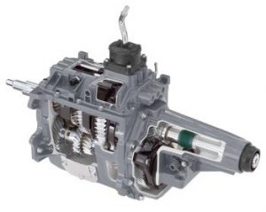 Cutaway of New Venture NV4500 Transmission