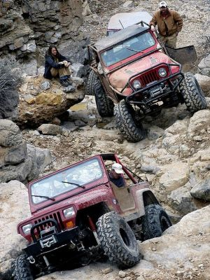 Popular Off-Road Trails