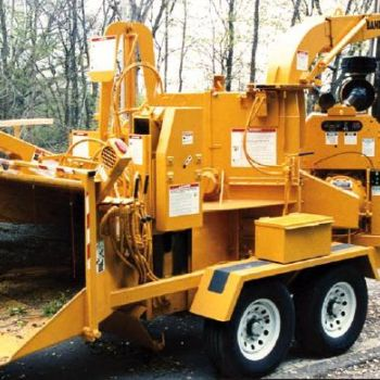Cummins 4BT Diesel Engine Wood Chipper Application