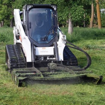 Cummins 4BT Engine Brush Mower Application