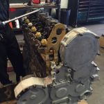 Remanufactured Diesel Engine