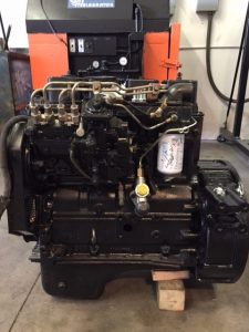 Remanufactured Cummins 4BT Engine