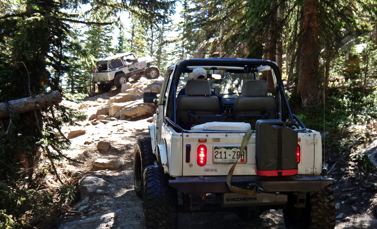 Top 10 Most Popular Colorado Off-Roading Trails
