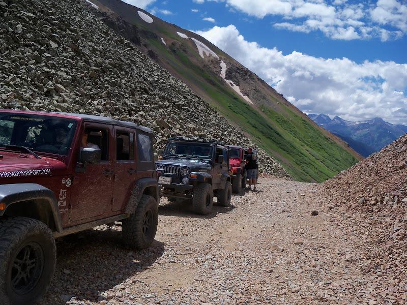 San Juan Mountain Trails Off Roading