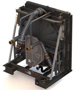 Caterpillar 3306 Diesel Engine Radiator
