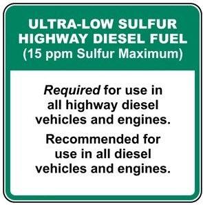 Ultra Low Sulfur Diesel Diagram