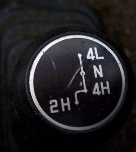 4WD Knob