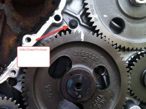 Killer Dowel Pin Issue
