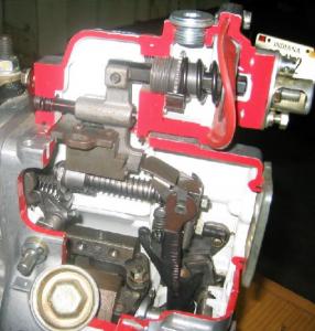 Cutaway P7100 Pump Governor Spring