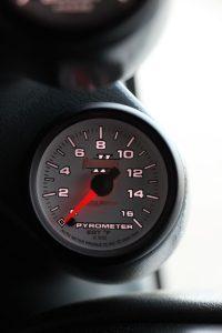 Cummins Pyrometer A-Pillar Gauge