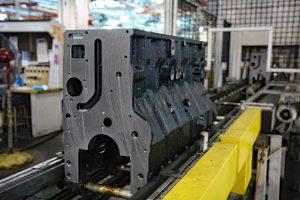 Navistar International Diesel Engine Block Cleaning