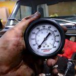 High Pressure Diesel Compression Test Gauge